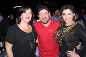 Os divulgadores de rádio Lana, Pinto Prateado e Regina