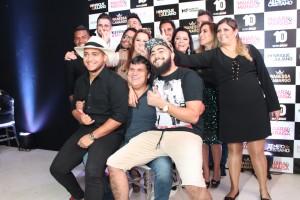 'Os filhões' de Wander Henrique & Juliano e demais artistas da WorkShow em momento descontraído