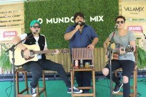 Israel (da dupla com Rodolffo), Fabiano e Jefferson Moraes em jam session