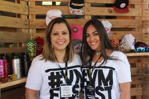 Larissa Ribeiro e Mayka Mendonça (Villa Mix Store)