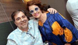 Dudu Falcão e Leila Pinheiro