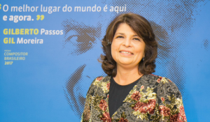 Presidente do ECAD, Glória Braga