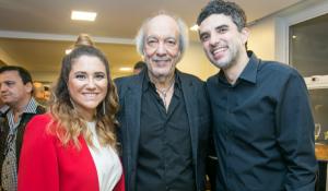 Maria Rita, Erasmo Carlos e Davi Moraes