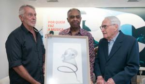 Paulo Sergio Valle, Gilberto Gil e o caricaturista Lan
