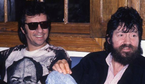 Marcelo Nova e Raul Seixas em 1989