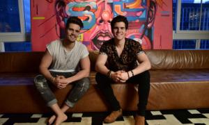 Breno e Caio Cesar   Créditos: Leo Franco/AGNews