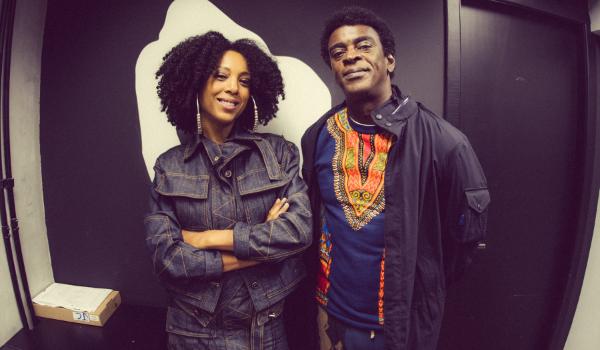 Foto: Negra Li e Seu Jorge | Divulgação
