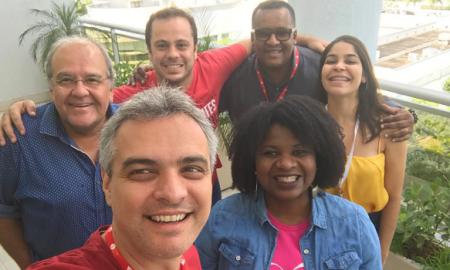 SBACEM: Max Pierre, Arthur Pereira, Clailton Gil, Islan Moraes, Sanny Oliver e Ingrid Lacerda / Divulgação