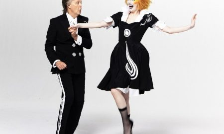 Paul McCartney e Emma Stone | Foto: Eric Luc/Nasty Little Man PR