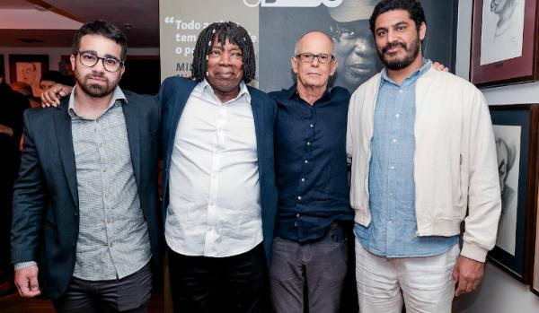 Augusto Nascimento, Milton, Ronaldo Bastos e Criolo